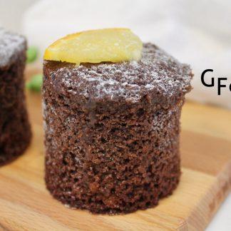 GF Choc Orange Valencia Cake